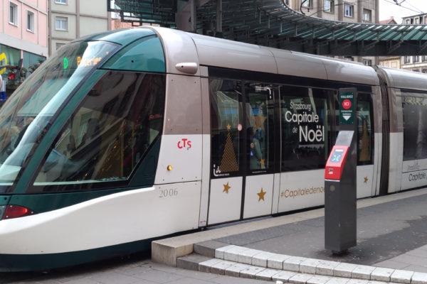 Tramway de Strasbourg, station Homme-de-Fer