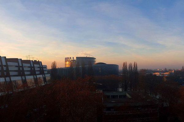 Les institutions européennes à Strasbourg. CC BY-SA 4.0 par Phisch90