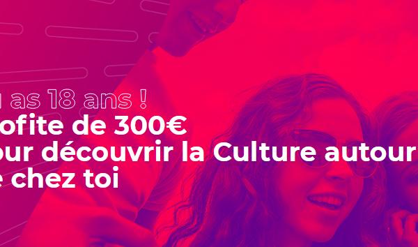 copie écran du site pass.culture.fr